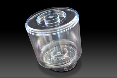 round icebucket with plinth